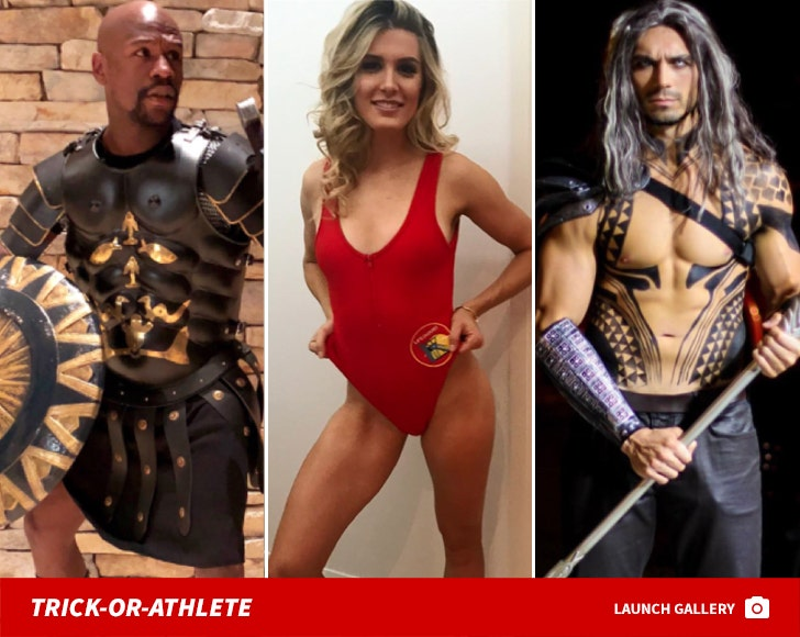 Sports Stars In Sweet Costumes