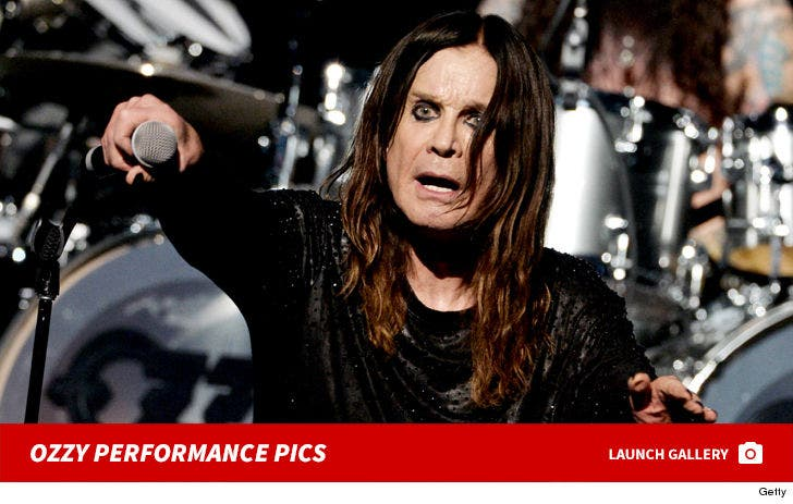 Ozzy Osbourne Performance Photos