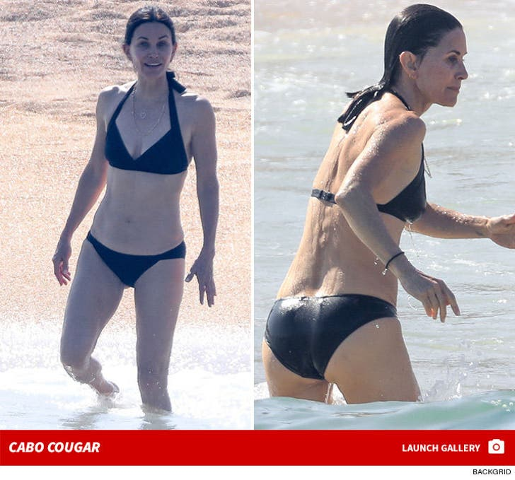Courteney Cox -- Cougar in Cabo